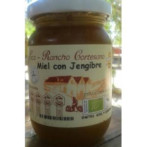 ECO MIEL DE MIL FLORES CON JENGIBRE 250 GRS
