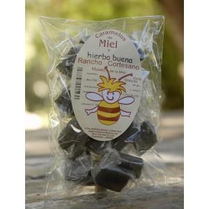 Caramelos de Miel y hierbabuena, 100 gr