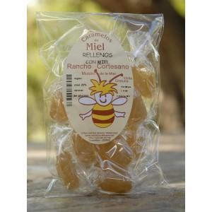 Caramelo Relleno de Miel , 100 gr