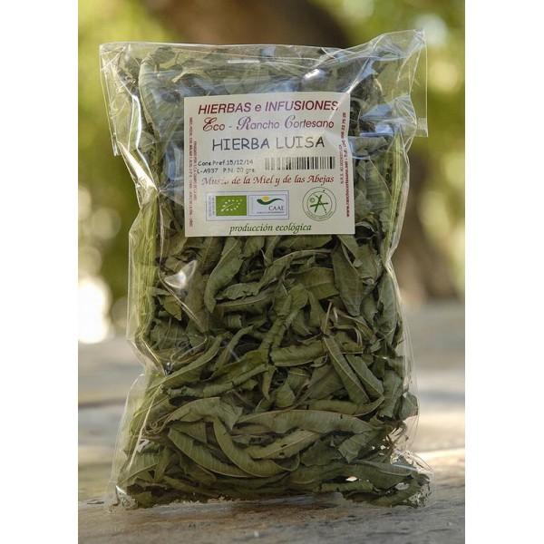 Hierba luisa producci n ecol gica 20 gr tienda miel for Salsa de hierba luisa