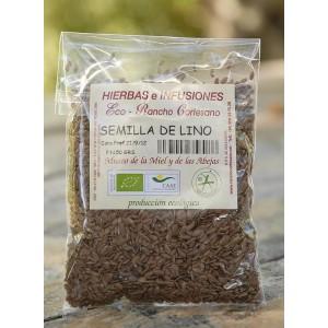 Semilla de lino, 50 gr Producción Ecológica